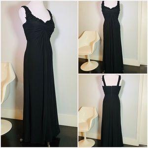 Black Tadashi Shoji Gown